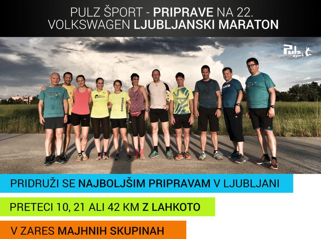 Priprave na Ljubljanski maraton