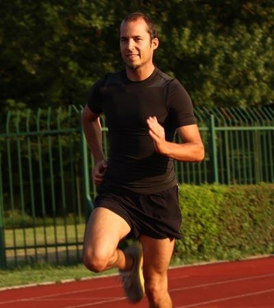 Trener Blaž Kavčič